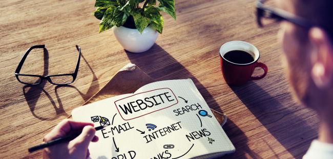 webová stránka zdarma